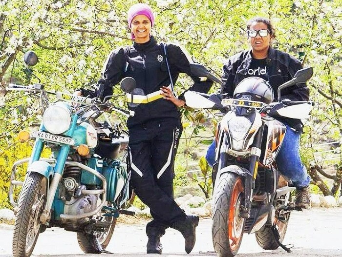 Two Women Cover 3,825 Kms From Kanyakumari To Leh