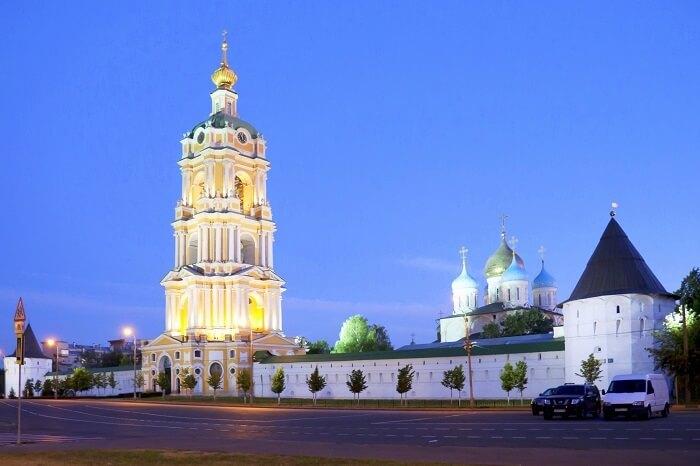 Novospassky Monastery Moscow