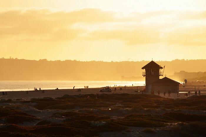 Coronado Central Beach, San Diego, California