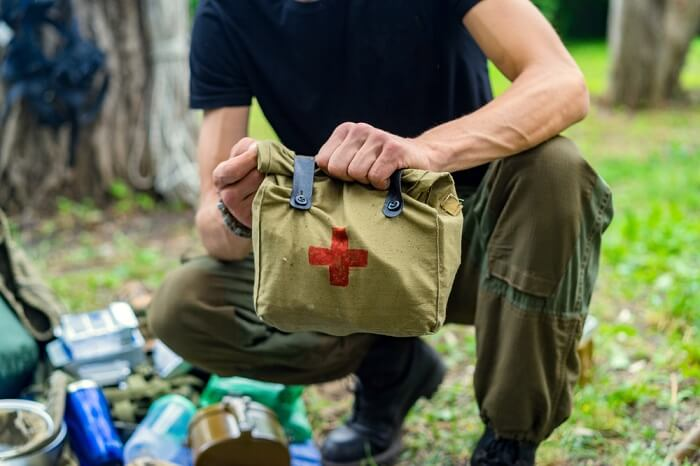 first aid kit for family holiday