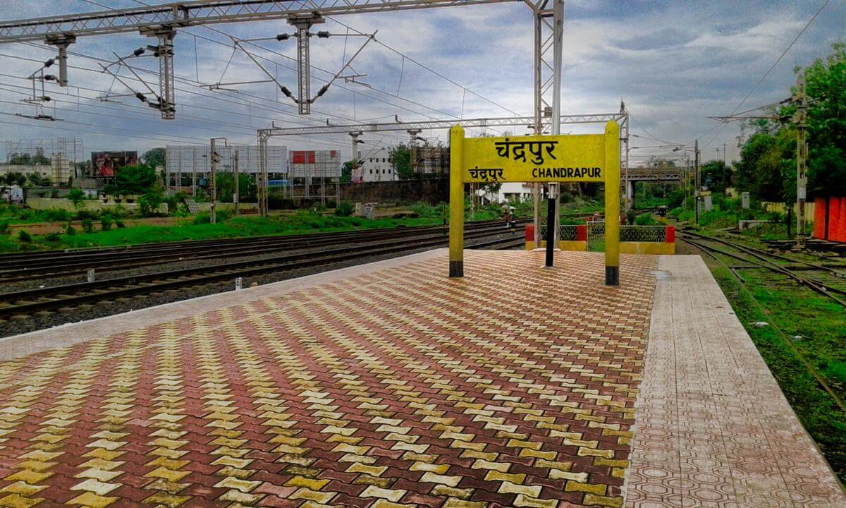 Chandrapur railway station