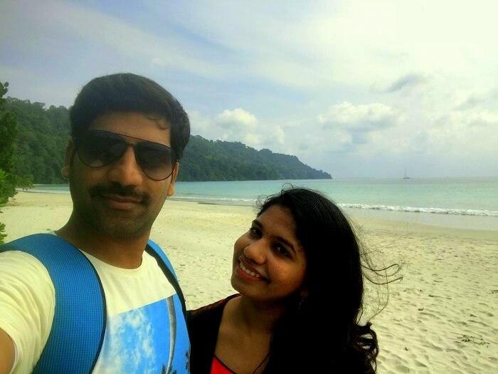 Couple at Havelock Island Andaman