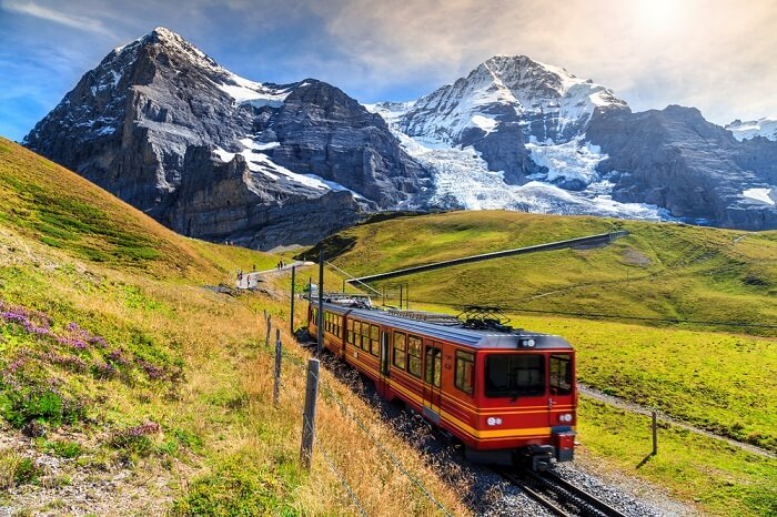 Thrilling train ride to Jungfraujoch