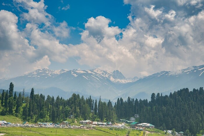 View Of Gulmarg