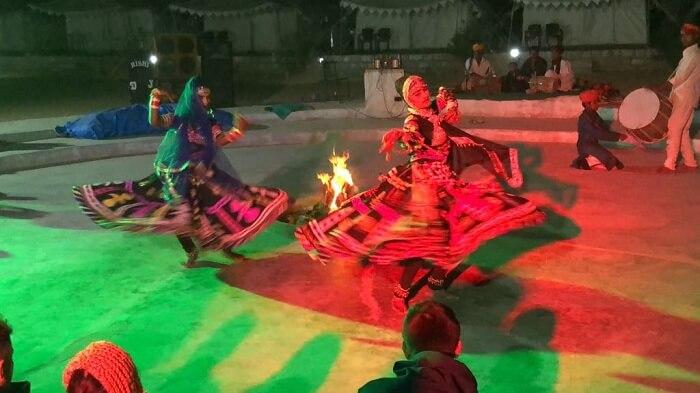 cultural show in jaisalmer