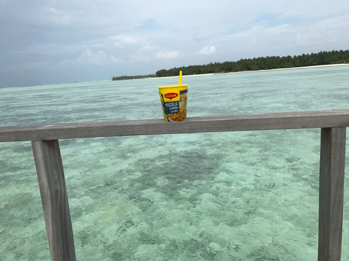 maggie noodles in maldives