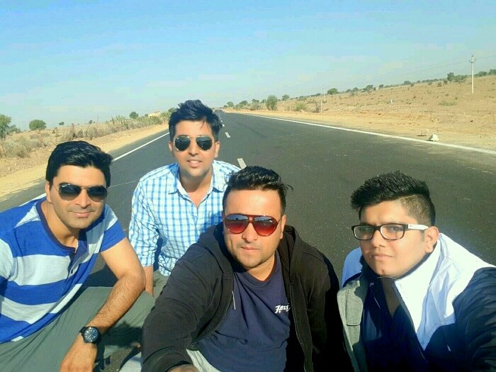 road trip to jaisalmer