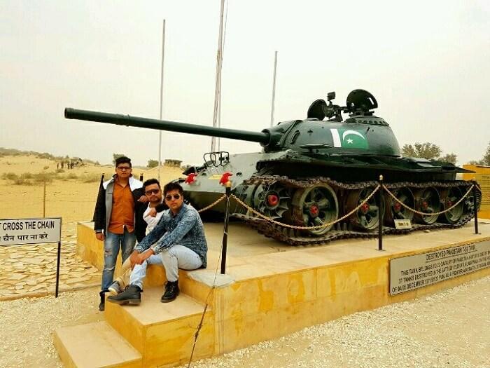 tanot border area