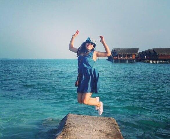 sushmita maldives honeymoon: enjoying romantic trip