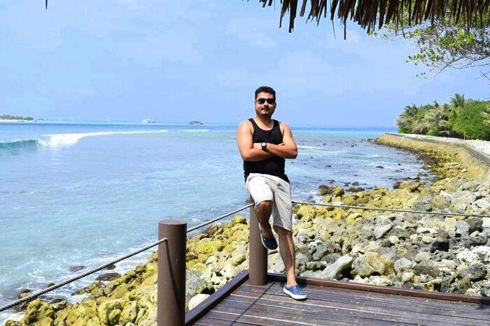 sushmita maldives honeymoon: sushmita hubby