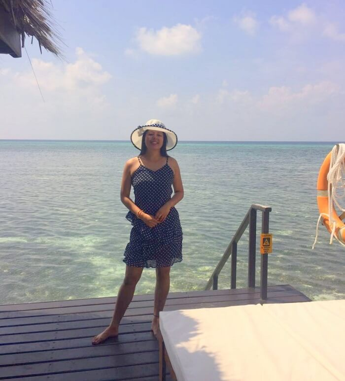sushmita maldives honeymoon: watersports