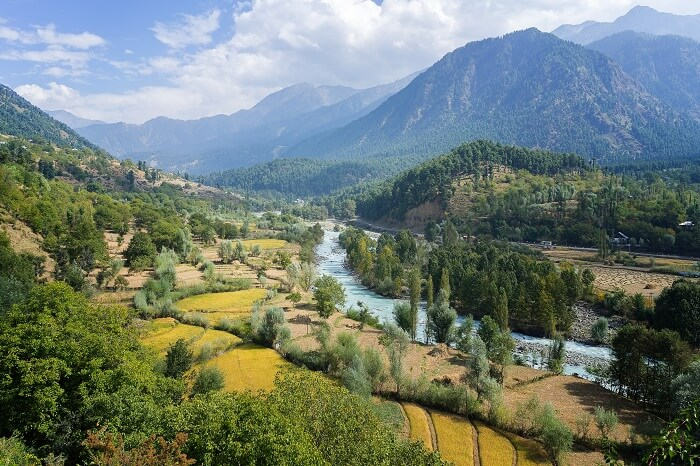 View Of Pahalgam