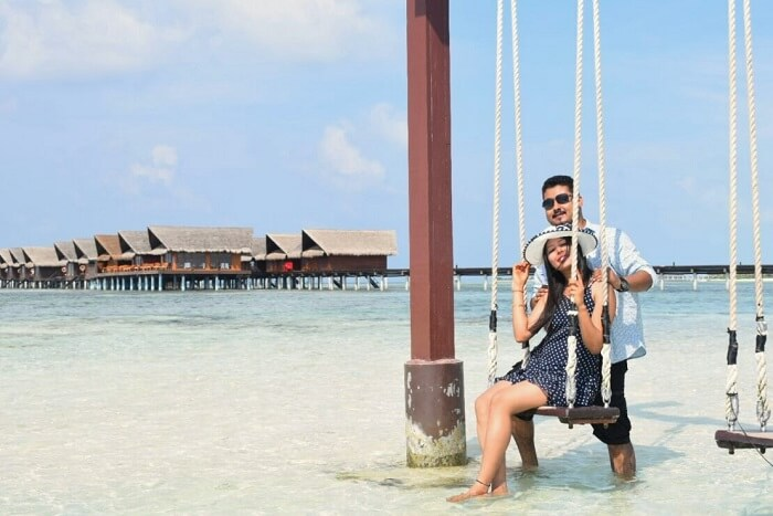 Sushmita maldives honeymoon cover