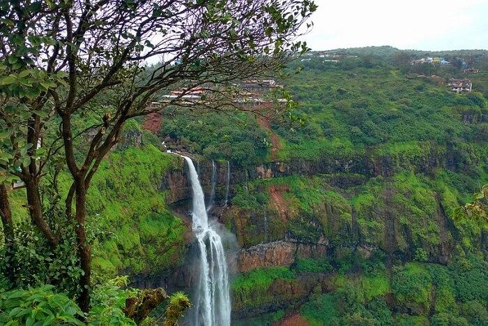 Take a dip at the Lingmala Falls