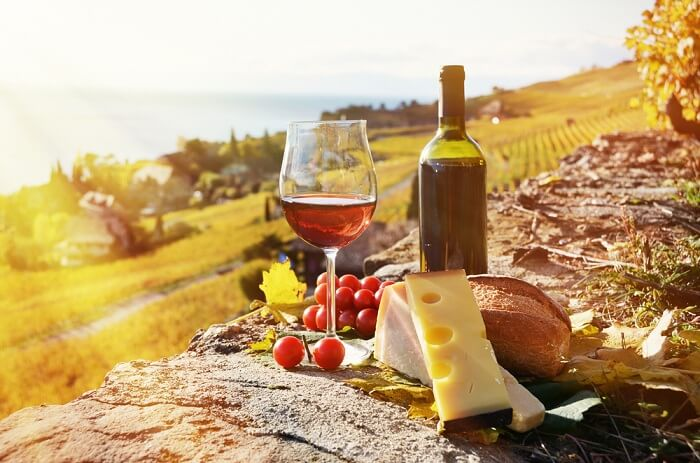 Taste local wine