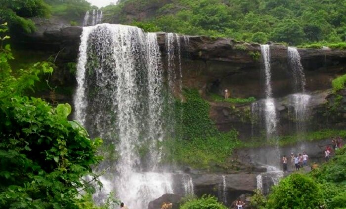 bhaghirath waterfalls in maharashtra