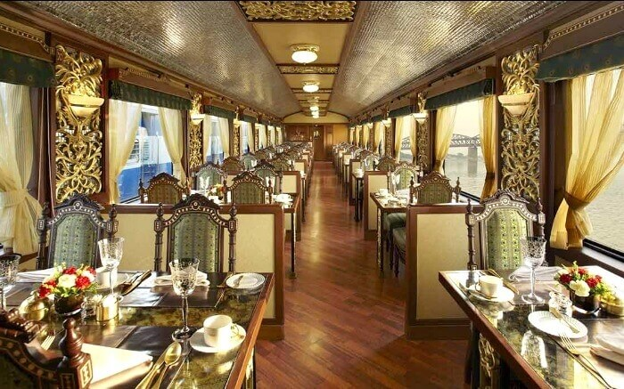 Super Luxury Trains In India