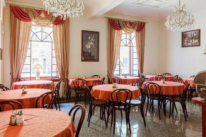 restaurant in dangelo hotel