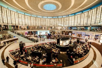 sleeping pods in Dubai Mall