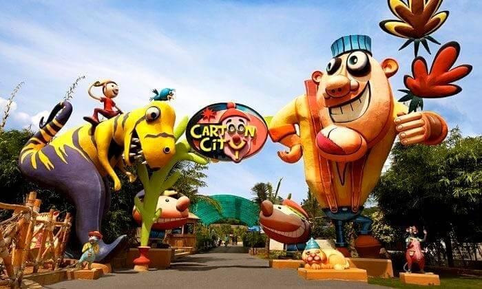 cartoon city in bangalore