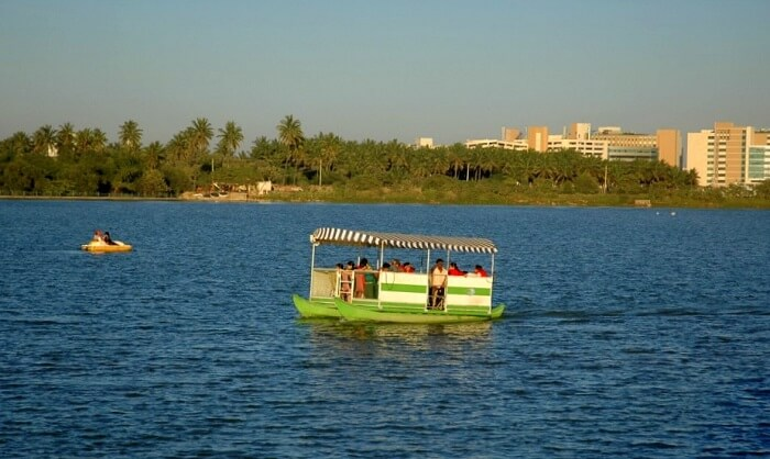 boating in lumbini gardens