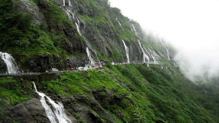 malshej waterfall