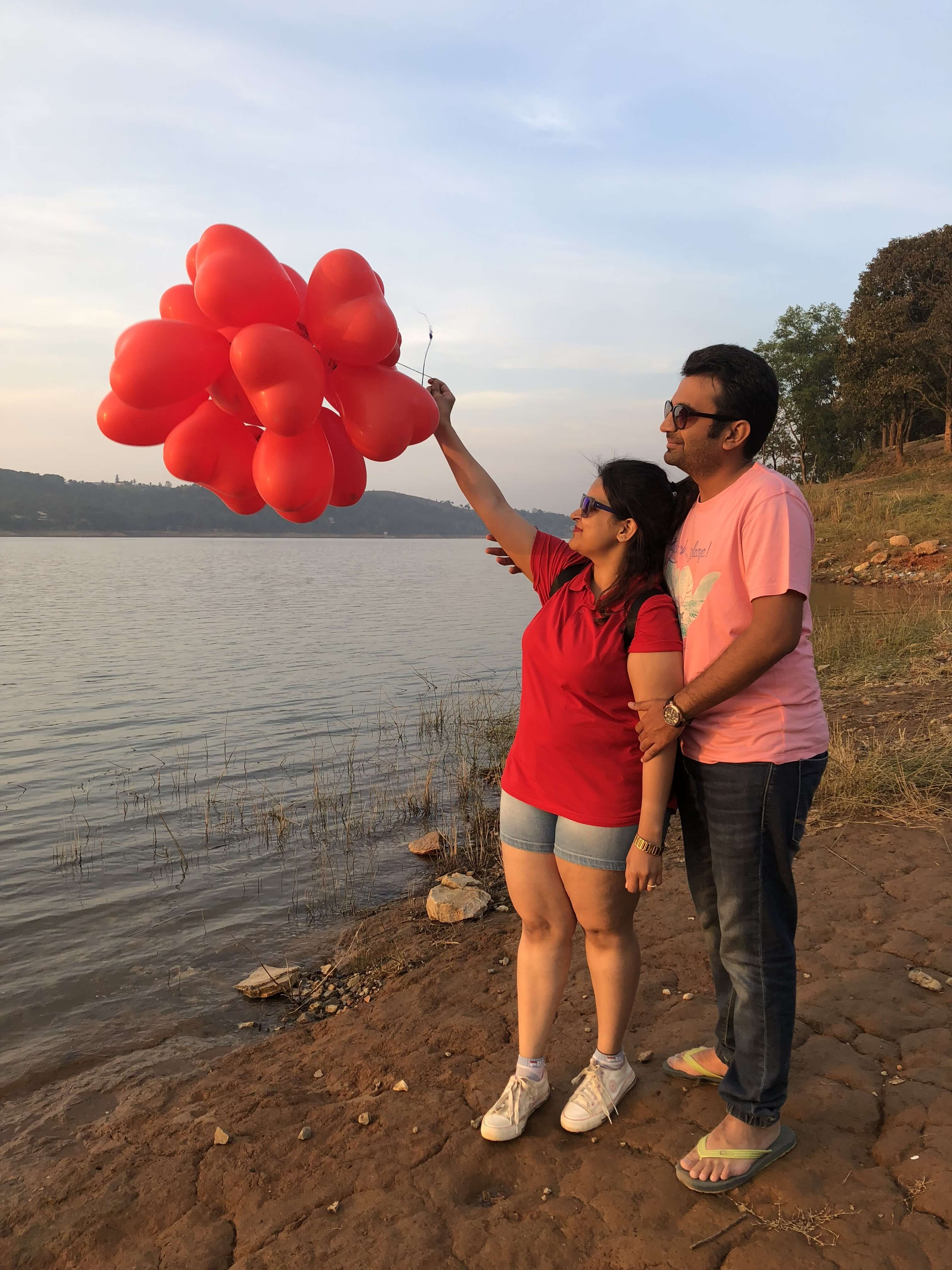 perfect valentine celebration at umium lake