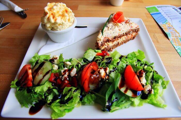iceland vegetarian cuisine and dessert