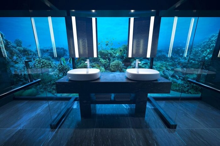 underwater suite in conrad maldives