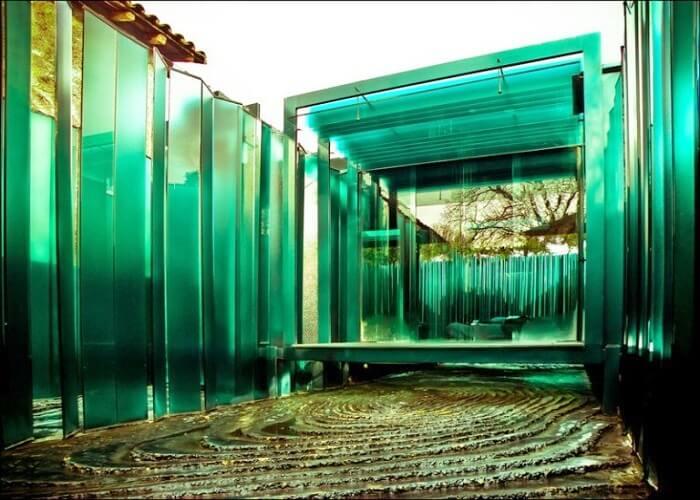 Look of First Glass Hotel Spain