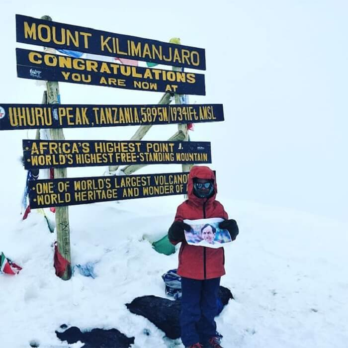 7-Year-Old Boy From Hyderabad Climbed Mount Kilimanjaro