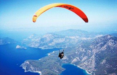 Paragliding in Panchgani