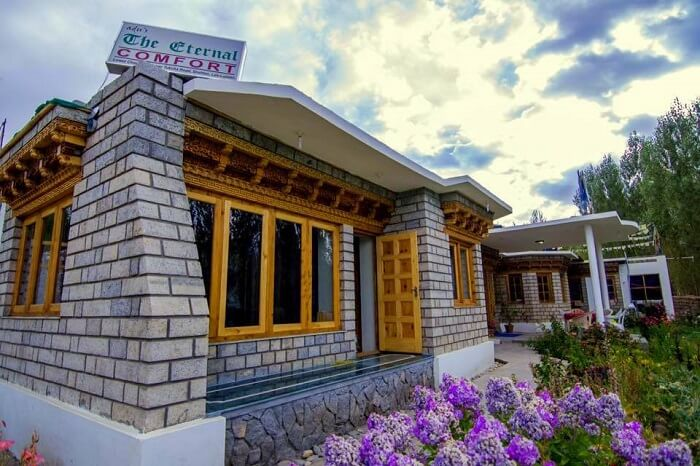 stay in ladakh at Adu's Eternal Comfort