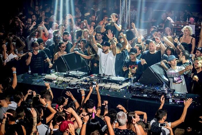 Amnesia Ibiza spain nightlife