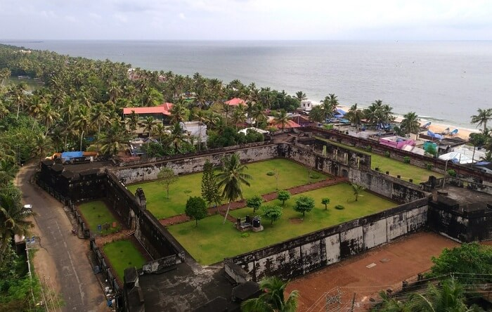 Anjengo Fort in varkala