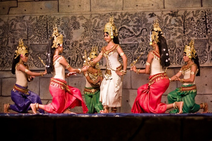 Apsara Dance performance In Siem Reap
