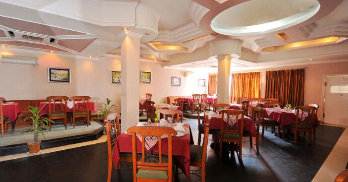 restaurant of a resort