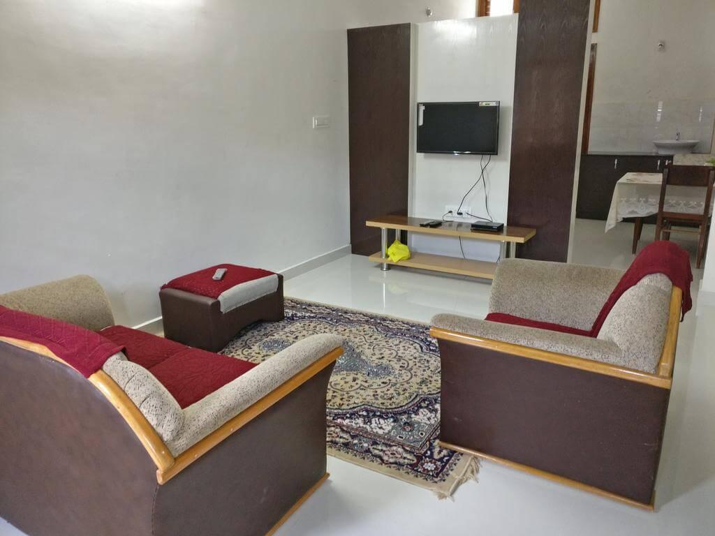 a room of Bricknest Homes homestay
