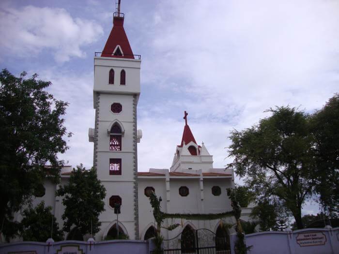 a beautiful church in in Coimbatore