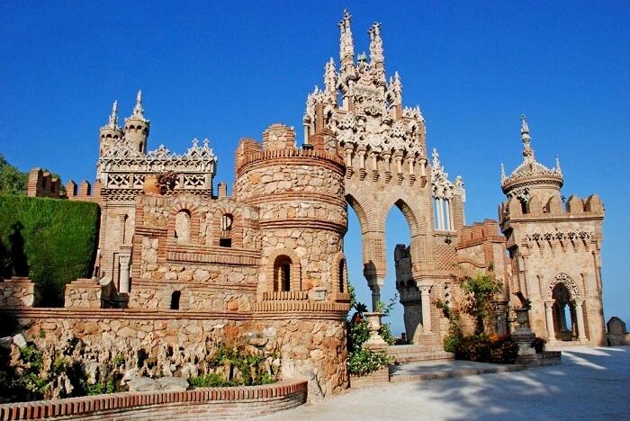 Castillo de Colomares castle