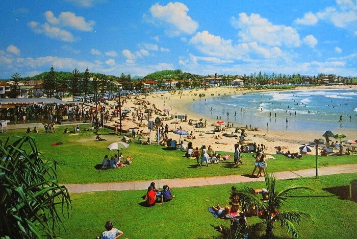 Coolangatta Beach gold coast