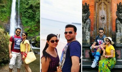 Bali honeymoon trip