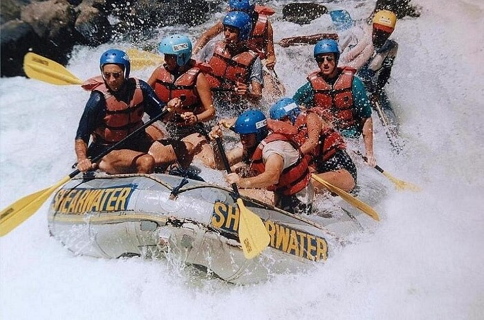 Enjoy river rafting in the Barapole coorg
