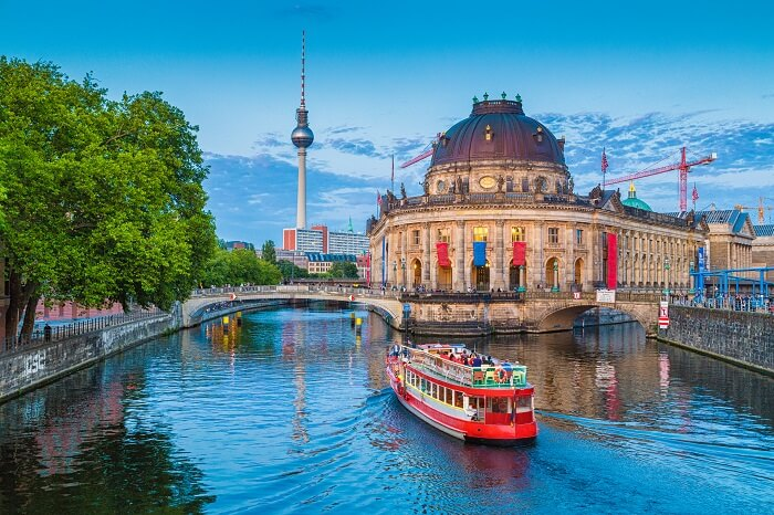 Explore art and history at the Museum Island in Berlin
