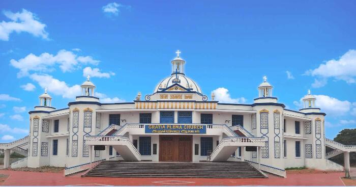 FotoJetcover churches in pondi