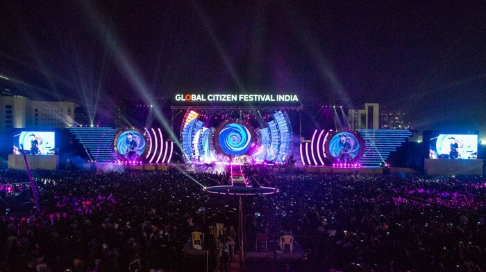 Global Citizen Festival mumbai