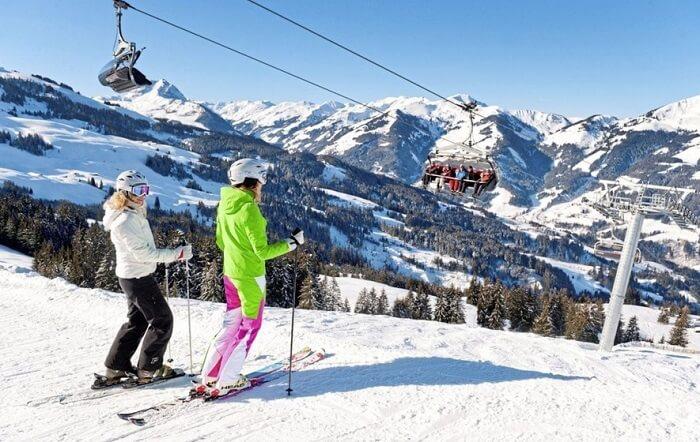 Go Skiing In Kirchberg