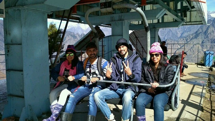 auli cable car fun