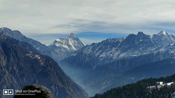 himalayan view from uttarakhand