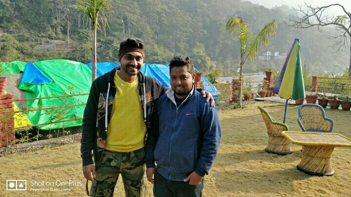 rishikesh trip with friends